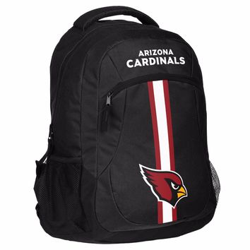 Arizona Cardinals Logo Action BackPack School Bag New Back pack Gym Travel Book