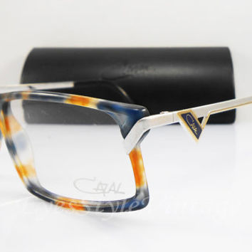 Cazal 649, New Old Stock, Vintage, Multicolor, Hipster, Unisex, Eyeglasses, Sunglasses, Frames