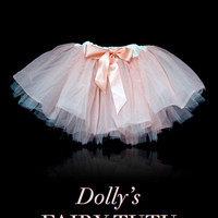 DOLLY by Le Petit Tom ® FAIRY TUTU off-white ballet pink