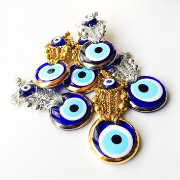 5 pcs Wedding favors for guest, nazar boncuk, evil eye, unique wedding favors
