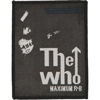 Who Men's Maximum R&B Woven Patch Black