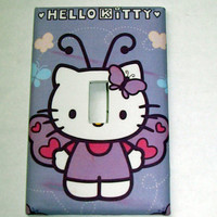 Light Switch Cover - Light Switch Plate Hello Kitty