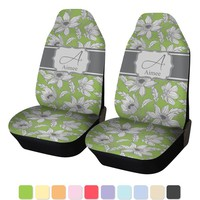 Wild Daisies Custom Car Seat Covers (Set of Two)