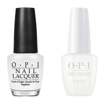 OPI - Gel & Lacquer Combo - Alpine Snow