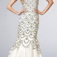 Strapless Mermaid Gowns by Jasz Couture