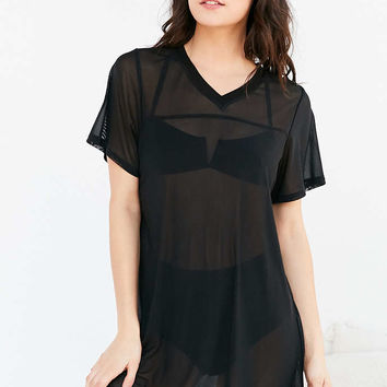 Out From Under Mesh Jersey Slip - Urban Outfitters