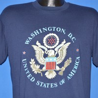 80s Washington D.C United States Of America Seal t-shirt Large