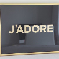 J'adore by jenniferramos on Etsy