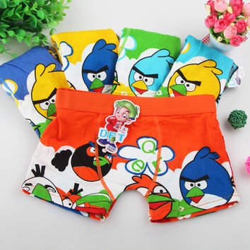 2017 Boy Underwear Children's Cartoon Boxer Underwears Cotton Boy Panties Kids Short Briefs BU087 Children Boxer Panties