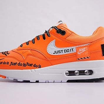 """Just do it"" Nike Air Max 1 917691-800 Sneaker Shoe"