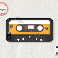 iPhone 5 Case, iPhone Case, iPhone 5 Cover, Cover Skin Case for iPhone 5, Tape Cassette