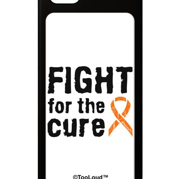 Fight for the Cure - Orange Ribbon Leukemia iPhone 5 / 5S Grip Case  by TooLoud