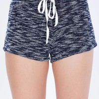 Marled French Terry Shorts