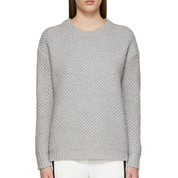 Marc By Marc Jacobs Grey Knit Merino Nora Sweater