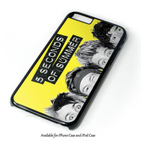 Funny Eyes 5 Second Of Summer Design for iPhone and iPod Touch Case