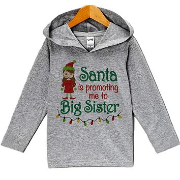 Custom Party Shop Baby's Big Sister Christmas Hoodie