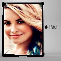 Demi lovato pose I0043 iPad 2, iPad 3, iPad 4, iPad Mini and iPad Air Cases