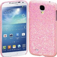Cimo Bling Sparkle Hard Cover Back Case for Samsung Galaxy S IV S4 - Pink