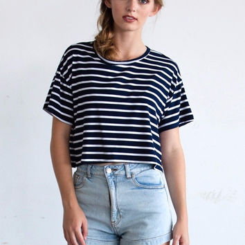 Charlie Boxy Crop Top