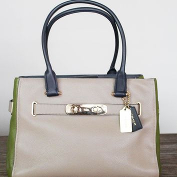 Coach Colorblock Bag