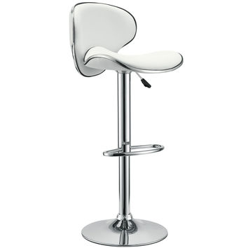Saddleback Fly Bar Stool White