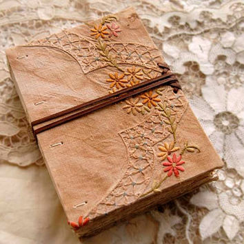 The Temple  Unique Hand Bound Journal / Guest by bibliographica