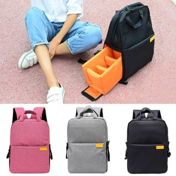 Besegad Shockproof Camera Travel Storage Shoulder Backpack Photography Video Bag for DSLR Camera Nikon Canon Sony Pentax