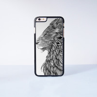 """Lion Plastic Phone Case For iPhone iPhone 6 Plus (5.5"""") More Case Style Can Be Selected"""