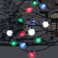The Cordless Lighted Outdoor Ornaments