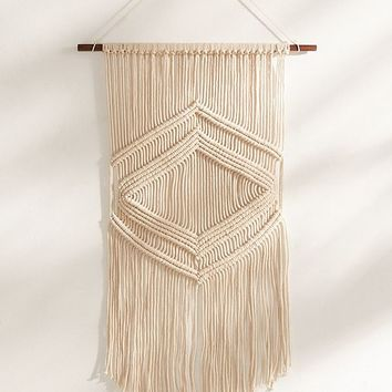 Lydia Macramé Wall Hanging | Urban Outfitters