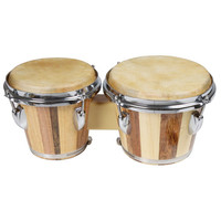 X8 Drums Tunable Two-Tone Bongos