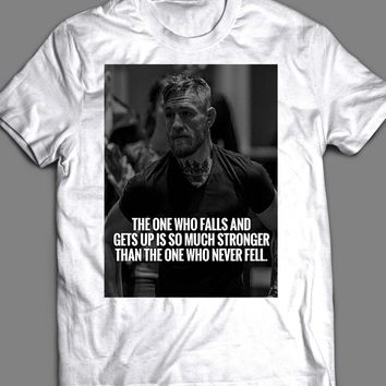 "UFC /MMA CONOR MCGREGOR ""THE ONE WHO FALLS"" T-SHIRT"