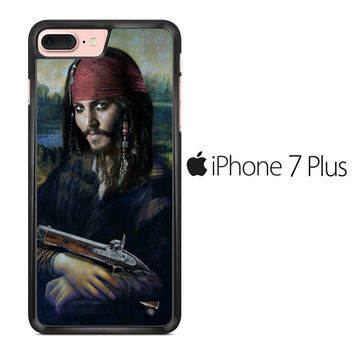 Johnny Depp Mona Lisa iPhone 7 Plus Case