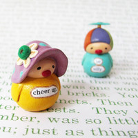 Wee Clown. Cheer Up. A Miniature Bea's Wees Collectible by humbleBea