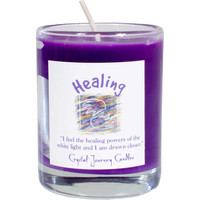 Soy Herbal candle for healing
