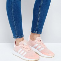 adidas Originals Coral Flashback Trainers at asos.com
