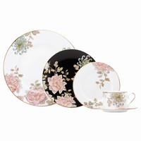 Marchesa by Lenox Painted Camellia 5 Piece Place Setting