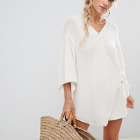 Zulu & Zephyr Awoken romper in cream at asos.com