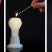 Light Bulb Candle | Design | Gear