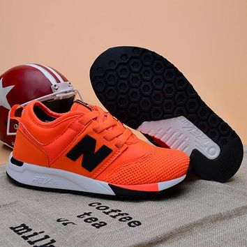 New Balance Girls Boys Children Baby Toddler Kids Child Fashion Casual Sneakers Sport Shoes