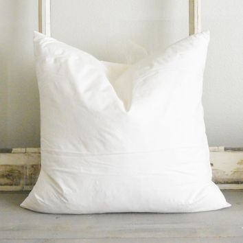 "20"" x 20"" Down Feather Pillow Insert"