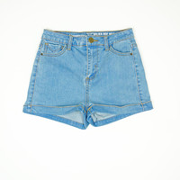 Walden High Waisted Denim Shorts
