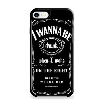 Ed Sheeran Drunk Lyrics jack daniels iPhone 6 | iPhone 6S Case
