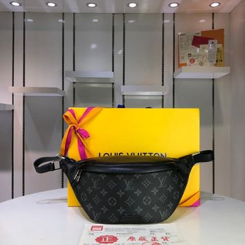 DCCK Lv Louis Vuitton Fashion Women Men Gb29610 M44336 Monogram Eclipse Canvas Bags All Collections Discovery Bumbag 37.0 X 30.0 X 6.0cm