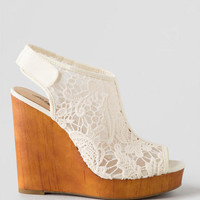 Lucky Brand, Rezdah Crochet Wedge