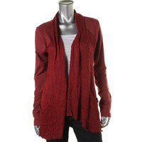 Lucky Lotus Womens Juniors Knit Open Front Cardigan Top