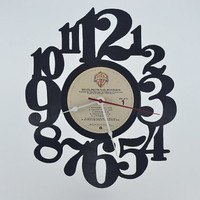 Vinyl Record Wall Clock (artist is Van Morrison)