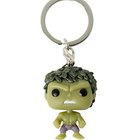 Funko Avengers: Age Of Ultron Pocket Pop! Glow-In-The-Dark Hulk Bobble-Head Key Chain Hot Topic Exclusive
