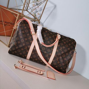 Kuyou Lv Louis Vuitton Gb29714 M41416 Monogram Travel All Collections  Keepall Bandouli¨¨re 50