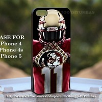 Florida State Seminoles, Print on Hard Cover iPhone 5 Black Case